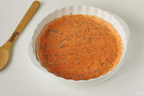 Пицца на слоеном тесте - фото шаг 3
