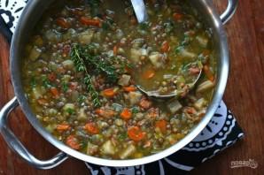 Французский суп из чечевицы - фото шаг 8