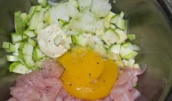 Курица с кабачками в сметане - фото шаг 1