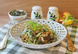 Витаминный салат из морской капусты - фото шаг 8