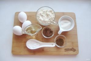 Шоколадный шифоновый бисквит - фото шаг 1