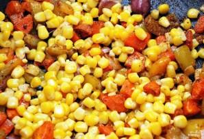 Рис с креветками и овощами - фото шаг 2