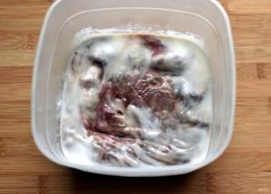 Отбивная из говяжьей печени - фото шаг 1