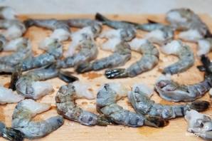 Креветки с пармезаном - фото шаг 1