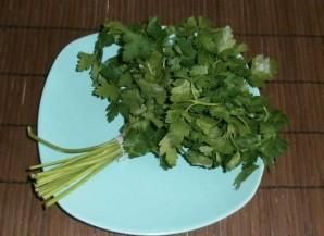 Творог с зеленью и чесноком - фото шаг 2