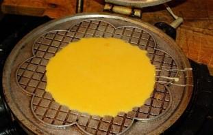 Тесто для вафель в электровафельнице - фото шаг 5