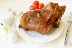 Свиная рулька в медово-горчичном соусе - фото шаг 6