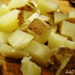 Картофельный салат с беконом - фото шаг 6