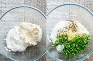 """""""Шустрый"""" салат с сухариками - фото шаг 1"""