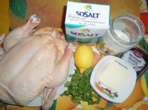 Курица в рукаве для запекания - фото шаг 1