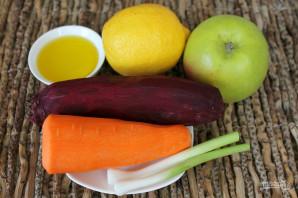 Салат со свеклой, яблоком и морковью - фото шаг 1