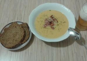 Суп с копчеными крылышками - фото шаг 5