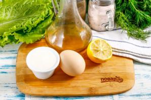 Майонез из йогурта - фото шаг 1