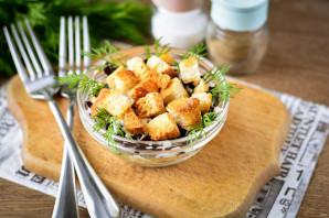Слоеный салат с фасолью - фото шаг 8
