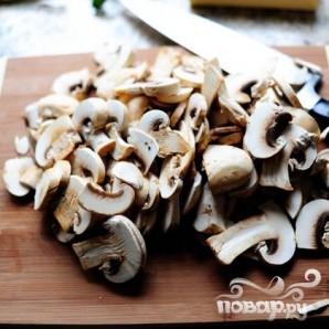 Бифштекс в грибном соусе - фото шаг 1
