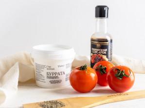 Буррата с томатами - фото шаг 1