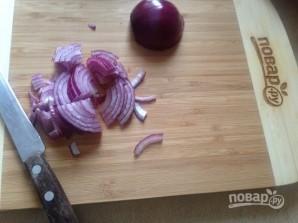 Салат из брокколи с вяленой клюквой - фото шаг 4