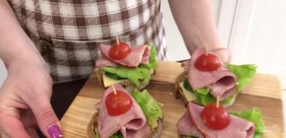 Бутерброды на все случаи жизни - фото шаг 5