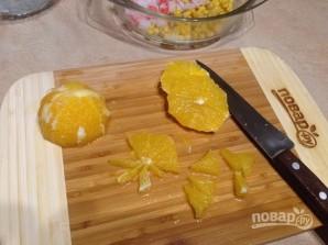 """Салат """"Нежный"""" с апельсином - фото шаг 2"""