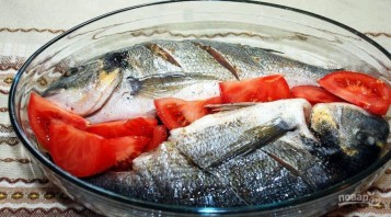 Рыба дорада - фото шаг 3