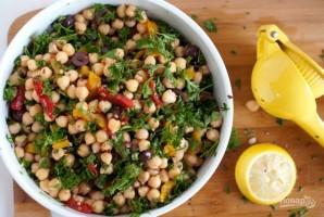 Полезный салат с нутом - фото шаг 3