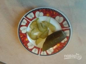 """Закуска на чипсах """"Паштетная"""" - фото шаг 4"""