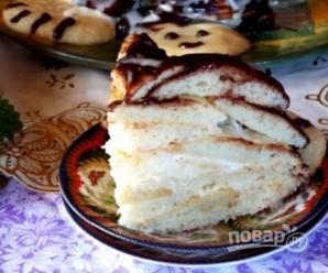 """Торт """"Черепаха"""" (простой рецепт) - фото шаг 8"""