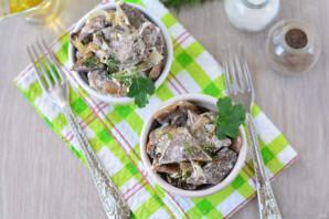 Салат из свиного легкого - фото шаг 10