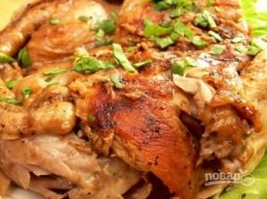 Цыпленок тапака (или табака) - фото шаг 10