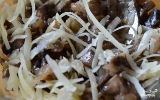 Закуска с грибами в тарталетках - фото шаг 5