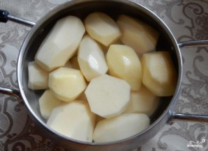 Картофельные зразы с квашеной капустой - фото шаг 1
