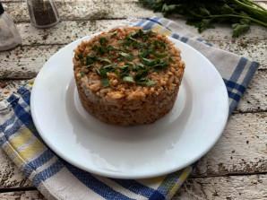 Рис с килькой в томатном соусе - фото шаг 7