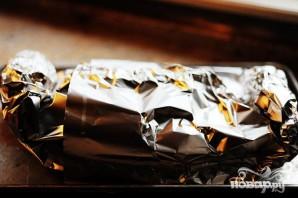 Креветки со спагетти - фото шаг 11