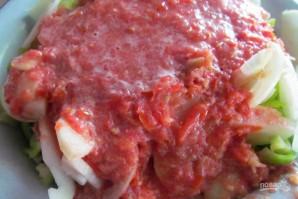 Салат на зиму из кабачков - фото шаг 4