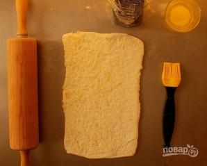 Слойки с сыром и маком - фото шаг 9