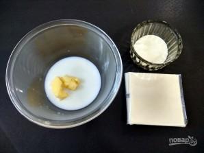 Сырный соус на скорую руку - фото шаг 1