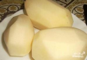Печеночные оладьи без яиц - фото шаг 3