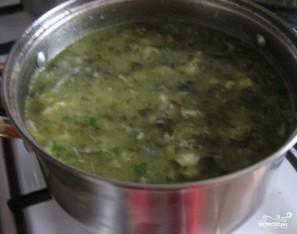 Зеленые щи из шпината - фото шаг 3