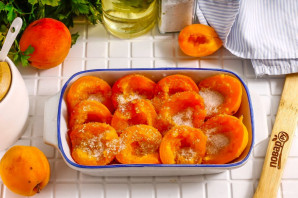 Запеченные абрикосы - фото шаг 3