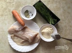 """Рыбный салат """"Раковые шейки"""" - фото шаг 1"""