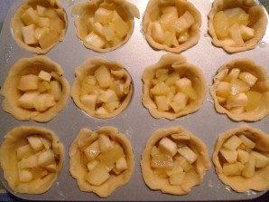 Пирожки с яблоками - фото шаг 8