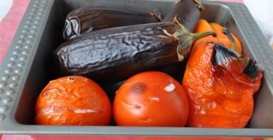 Cалат из печеных овощей - фото шаг 3