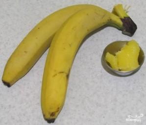 Банан с медом от кашля - фото шаг 1