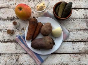 "Салат ""Огород"" на праздничный стол - фото шаг 1"