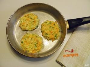Оладьи из кабачков и моркови - фото шаг 5