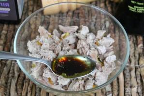 Салат из мяса с апельсином - фото шаг 8