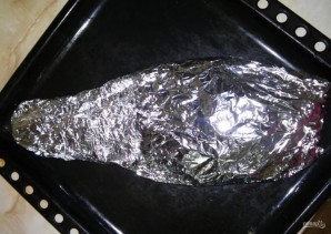 Лещ, запеченный в духовке - фото шаг 7