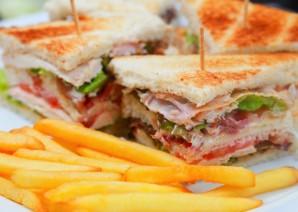 """""""Клаб сэндвич"""" - фото шаг 4"""