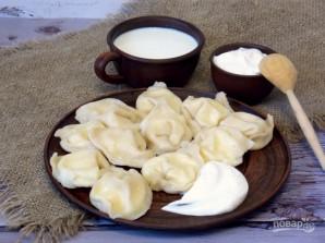 Вареники на молоке с творогом - фото шаг 9