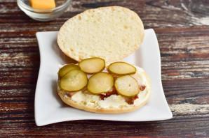"""Бутерброд """"Черепаха"""" - фото шаг 4"""